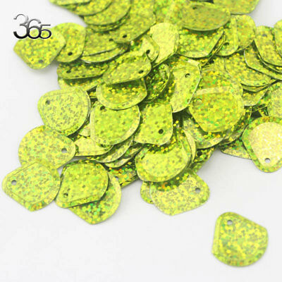 19mm Drip Green Sequin&Paillette Sewing Accessories Beads DIY Clothing 600 Pcs