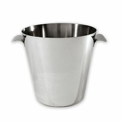 NEW STAINLESS STEEL WINE BUCKET 18/8 Ice Champagne Cooler