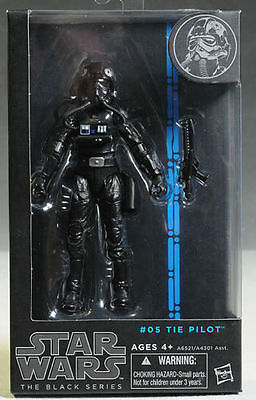"Star Wars Tie Fighter Pilot 6"" Black Series Bsg05A"