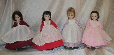 LOT OF 4 Collectible Little Women Dolls By Madame Alexander From Daytons