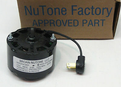 26761SER Genuine Nutone Vent Bathroom Fan Ventilator Motor 26761 JA2C354N
