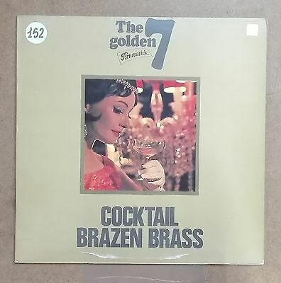 40274 LP 33 giri - Henry Jerome - Cocktail Brazen Brass - Brunswick