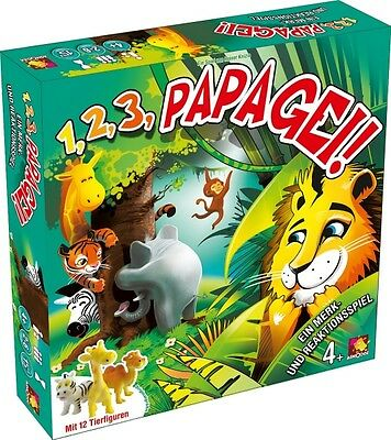 Asmodee Spiel 1, 2, 3, Papagei!