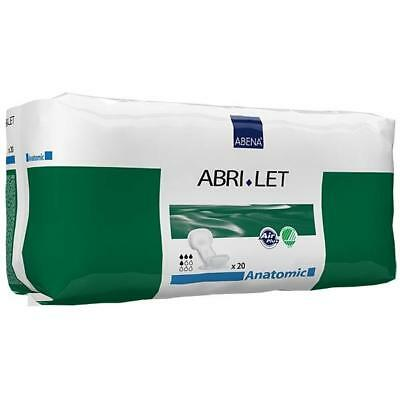 Abri-Let Booster Pad Anatomic (Pack 20)  Disposable Incontinence Pads