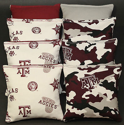 Admirable Texas Am University Aggies Cornhole Bean Bags Camo Tailgate Ibusinesslaw Wood Chair Design Ideas Ibusinesslaworg