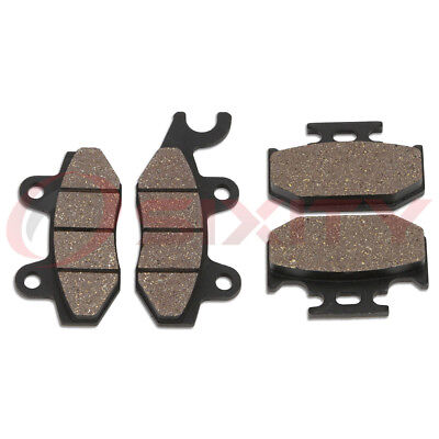 Front + Rear Organic Brake Pads 1994-1997 Yamaha YZ250 Set Full Kit F G H J vq