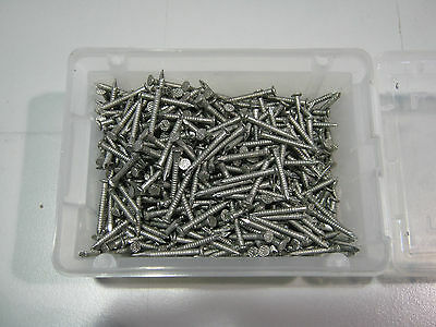 Stainless Steel Flat Head Nail 30Mm Ring Shank 1Kg