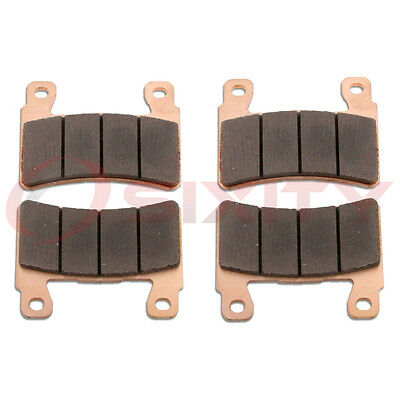 Front Sintered Brake Pads 2013-2015 Kawasaki ZX636 Ninja ZX-6R ABS Set Full sd