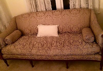 Antique French Louis XV Style Carved Sofa