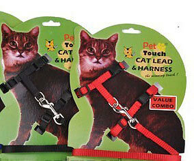Nylon Cat Harness and Lead Small free ship