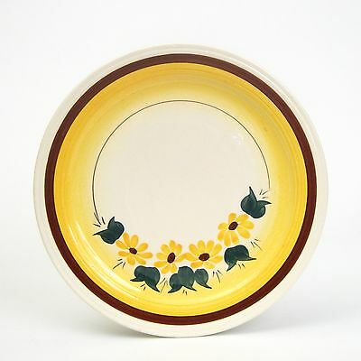 Vernon Kilns Brown Eyed Susan Luncheon Plate
