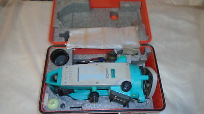 "Sokkia Dt610 Electronic Digital Theodolite 7"" Survey Instr., Battery And Case"