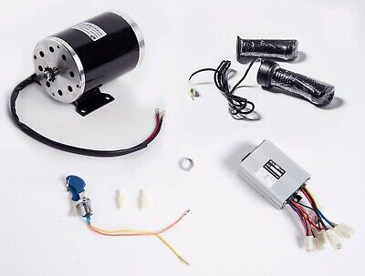 1000 W 48V electric scooter motor kit w BASE+control box key lock & Throttle