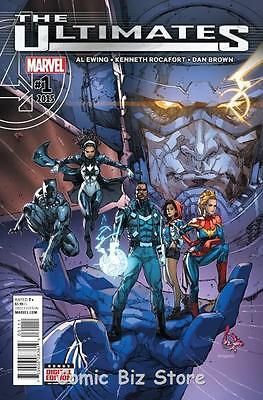 Ultimates #1 (2015) 1St Printing Bagged & Boarded