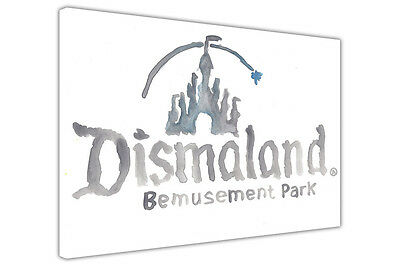 Dismaland Bemusement Park Canvas Prints Street Art Pictures Banksy Wall Posters