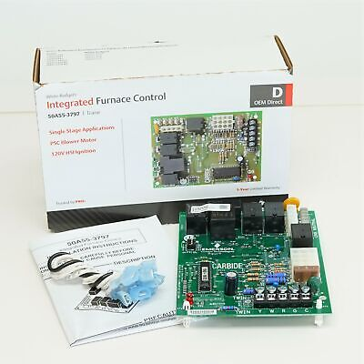 50A55-3797 White Rodgers Furnace Control Board for Trane D341235P01 CNT02891