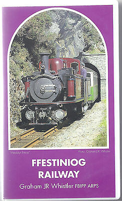 Ffestiniog Railway by Graham Whistler PAL video cassette