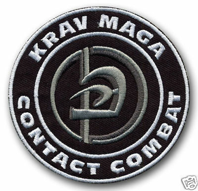 Krav Maga Contact Combat - HQ embroidered patch/badge