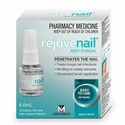 * Rejuvenail Anti-Fungal Infection Nail Care Treatment 6.6Ml Lacquer Solution