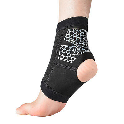 RockBros Basketball Tennis Sport Ankle Support Strap Brace Protector 1pc S/M/L