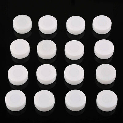 50pcs White 27mm Dia Toy Rattle Box Noise Maker Insert Pet Baby Toy Squeaker