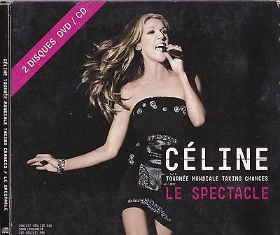 Celine Dion Rare Dvd + Cd Le Spectacle + Celine Dion In Conversation Cd