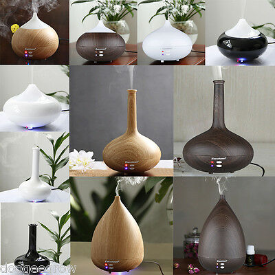 280mL Essential Oil Aroma Diffuser Ultrasonic Air Purifier Fragrance Humidifier