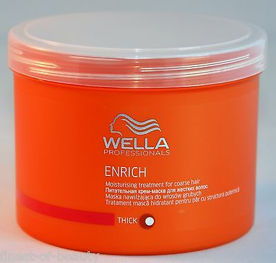 WELLA ENRICH Mask 500ml (3,49€/100ml) THICK / coarse / kräftiges Haar