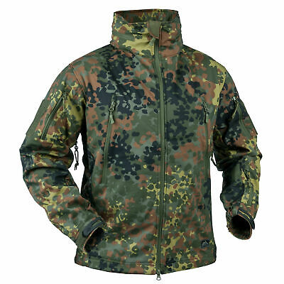 Helikon Tex GUNFIGHTER Jacket Windblocker Jacke Flecktarn Bundeswehr BW Outdoor