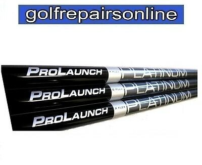 Grafalloy Prolaunch Platinum Stiff For Taylormade Callaway Titleist Nike Ping