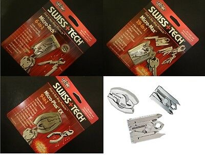 Swiss tech gadgets KEYRING Mens XMAS Stocking filler multi tool CAMPING DIY USA