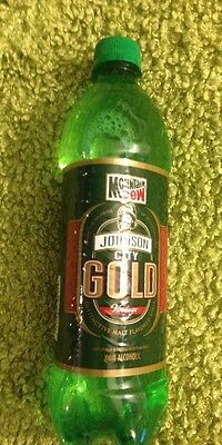 MOUNTAIN DEW JOHNSON CITY GOLD 24oz PLASTIC BOTTLE 1 bottle full free shipping