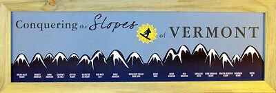 Vermont Ski Slopes (magnetic)