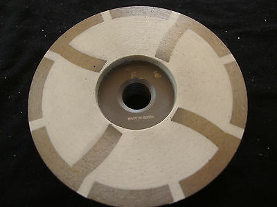 "4"" Inch Diamond Grinding Cup Wheel Resin Fine Grit Wet Dry Granite Marble Stone"