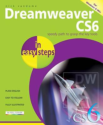 Dreamweaver CS6 In Easy Steps,Nick Vandome,New Book mon0000063608