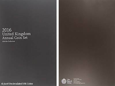2016 Royal Mint Brilliant Uncirculated Annual Coin Set Booklet