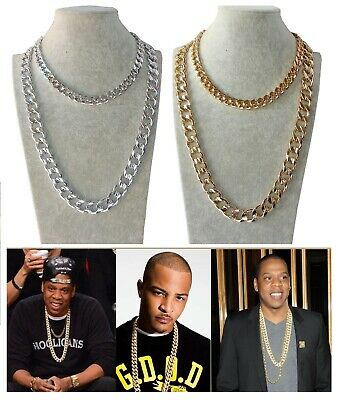 collana Catena argento 55cm 85 cm uomo,donna Rapper girocollo,chain necklace