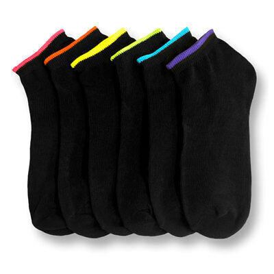 1~40 Dozens Wholesale Women Black Ankle Quarter Low Cut Spandex Socks Lots 9-11