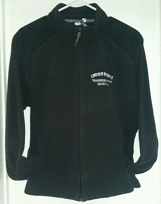 Lincoln Heights Season 4 Transportation Crew Womens Embroidered Jacket XL Black