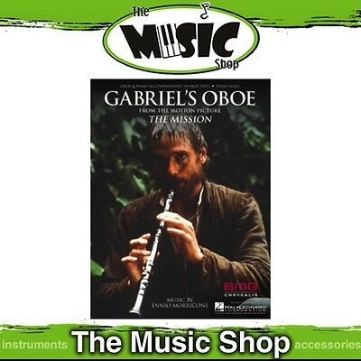 New Gabriel's Oboe from 'The Mission' Soundtrack Sheet Music for Oboe & Piano
