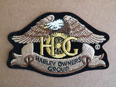 Heritage Small Eagle Harley Owners Group Hog Embroidered Patch