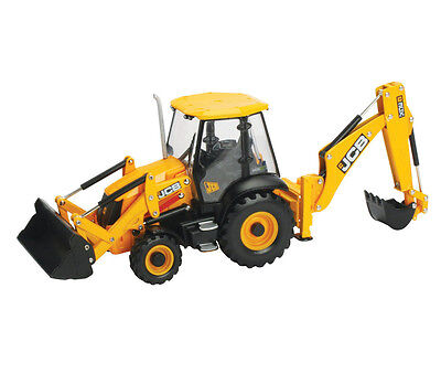 Tomy 42702 Britains Big Farm Jcb 3Cx Backhoe Loader 3 + Brand New In Box