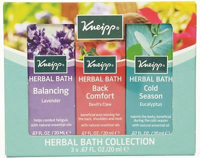 Kneipp 3 Piece Herbal Bath Collection Gift Set