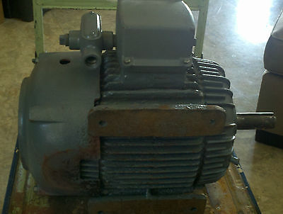 1.5 WESTINGHOUSE electric pump motor EXPLOSION PROOF 460 3 PHASE 1735 RPM