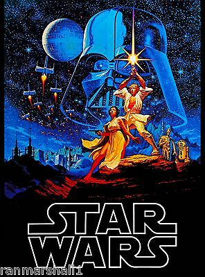 Star Wars Episode 4 A New Hope Lucas United States Travel Advertisement Poster