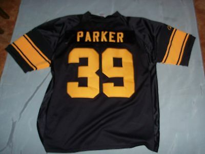 5a8548ac266 PITTSBURGH STEELERS WILLIE Parker Jersey 75th Anniversary Patch Size ...