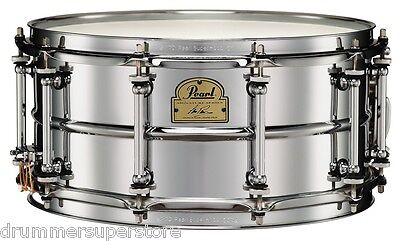 Pearl Ian Paice 14 X 6.5 Steel Signature Snare Drum Chrome Ip1465