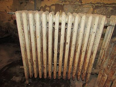 Antique Vintage Cast Iron Hot Water Steam Radiator Heater Early 1900's