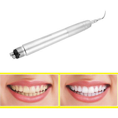 Dental Ultrasonic Air Perio Scaler Handpiece Hygienist 4-Holes with 3 Tips LO