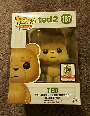Sdcc 2015 Exclusive Funko Pop Movies Ted 2 Flocked